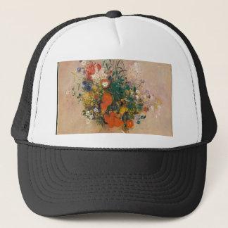 Assortion of Flowers in Vase Trucker Hat