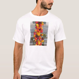Assortment of colorful chilli peppers T-Shirt