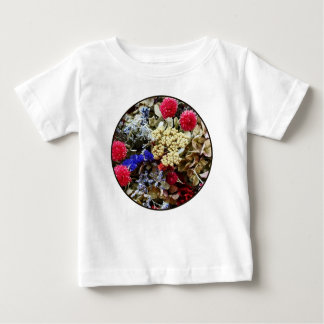 Assortment Of Dried Flowers Baby T-Shirt