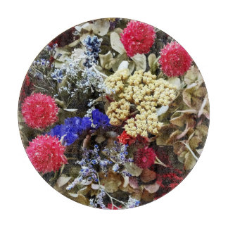 Assortment Of Dried Flowers Boards