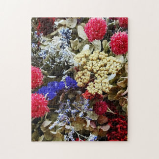 Assortment Of Dried Flowers Jigsaw Puzzle