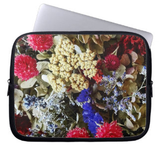 Assortment Of Dried Flowers Laptop Sleeve