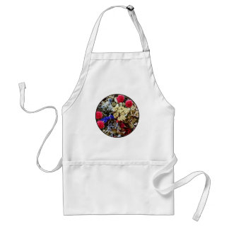 Assortment Of Dried Flowers Standard Apron