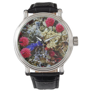 Assortment Of Dried Flowers Watch