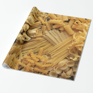 Assortment of Dried Pastas Wrapping Paper