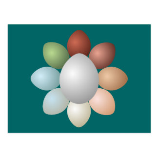 Assortment of Eggs Postcard