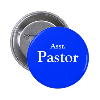 Asst. Pastor button with pin clasp