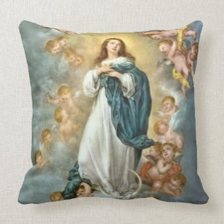 Assumption of the Blessed Virgin Mary Throw Pillow