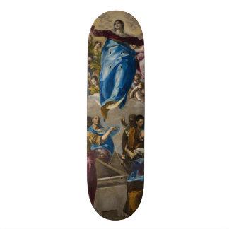 Assumption of the Virgin by El Greco Custom Skateboard