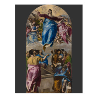 Assumption of the Virgin by El Greco Postcard