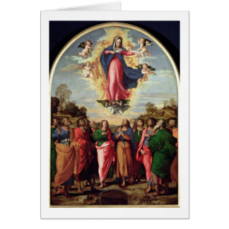 Assumption of the Virgin Card