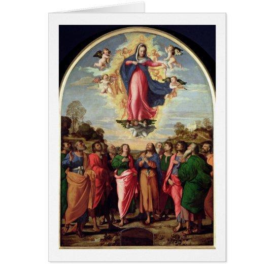 Assumption of the Virgin Card