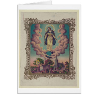 Assumption of the Virgin Mary Card