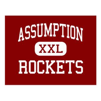 Assumption - Rockets - High - Louisville Kentucky Postcard