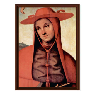 Assumption With Four Saints  By Perugino Pietro Postcard