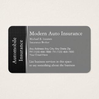 Assurance d'automobile cartes de visite