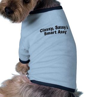 Assy chic impertinent et futé T-Shirts png T-shirt Pour Chien
