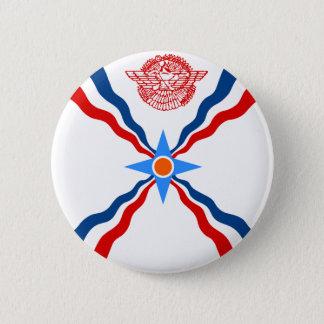 Assyria, Democratic Republic of the Congo 2 Inch Round Button