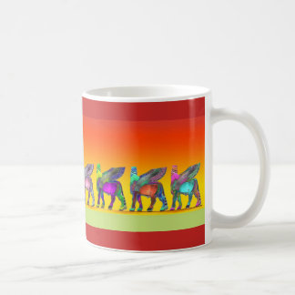 Assyrian Colorful Lamassu Mug 1