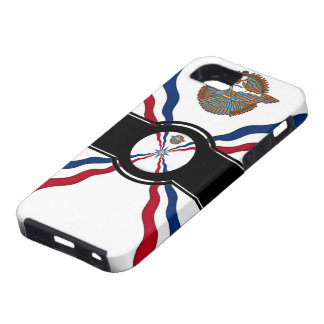 Assyrian flag iphone Case