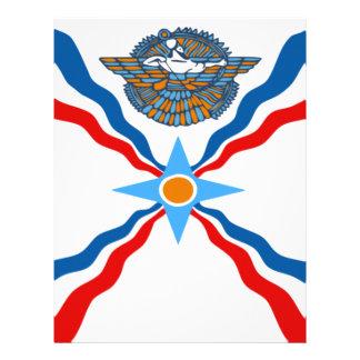 assyrian-Flag Letterhead