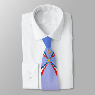 Assyrian Flag necktie 1