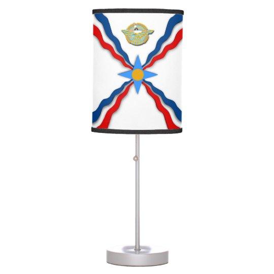 Assyrian Flag Table lamp