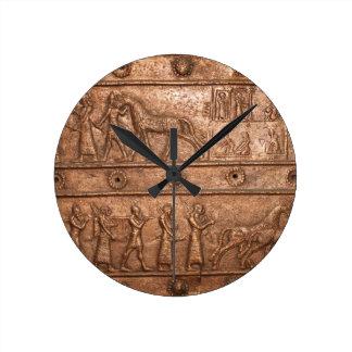 Assyrian Gate Clock