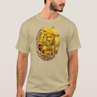 Assyrian Golden Lamassu and Ishtar Gate tshirt