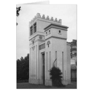 Assyrian House, Universal Exhibition, Paris Card