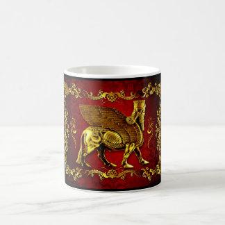 Assyrian Lamassu (wingedbull) mug