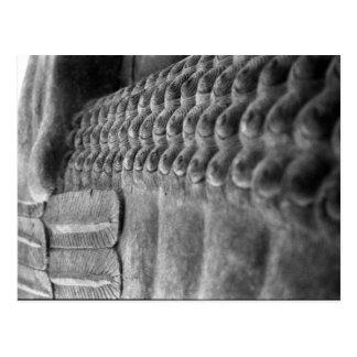Assyrian Sculpture | Customizable Postcard
