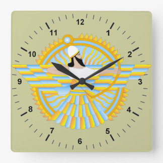 Assyrian Wall Clock (Alaha Ashur)