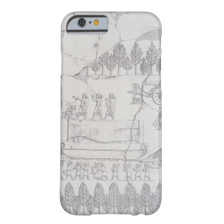 Assyrians moving a Winged Bull on a Sledge, from ' Barely There iPhone 6 Case