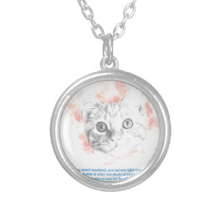 Asta - Malcolm's Daemon from His Dark Materials Silver Plated Necklace