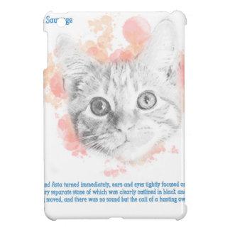 Asta, Malcolm's Daemon from La Belle Sauvage iPad Mini Cases