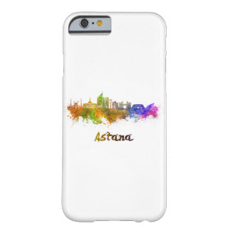 Astana skyline in watercolor barely there iPhone 6 case