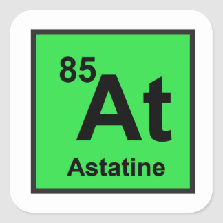 Astatine Sticker