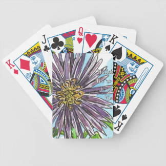 Aster Bicycle Playing Cards