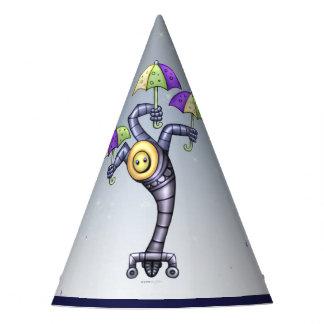 ASTER CUTE ROBOT ALIEN CARTOON Party Hat