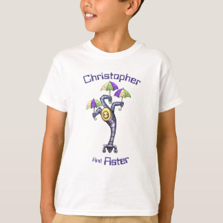 ASTER CUTE ROBOT Kids' Hanes TAGLESS® T-Shirt