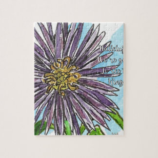 Aster Jigsaw Puzzle