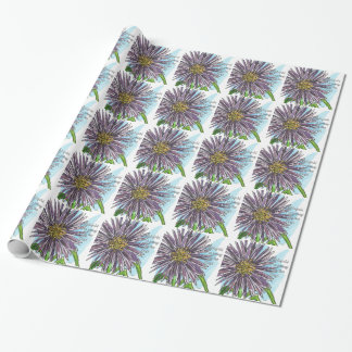 Aster Wrapping Paper