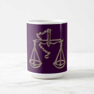 Asterisk balance zodiac sign Libra Coffee Mug