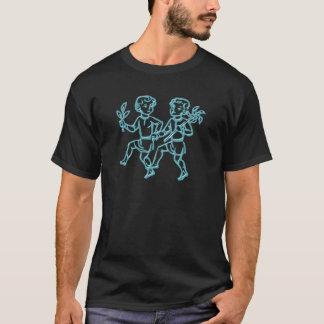 Asterisk of twins zodiac sign Gemini T-Shirt