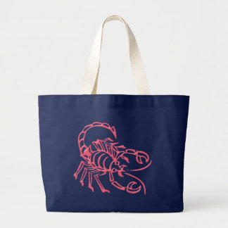 Asterisk scorpio zodiac sign Scorpio Large Tote Bag