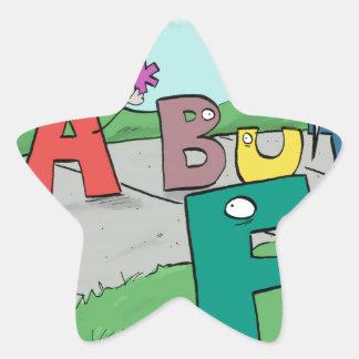 Asterisk Taker Star Sticker