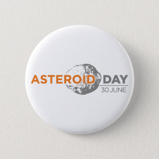 Asteroid Day badge, large 2 Inch Round Button