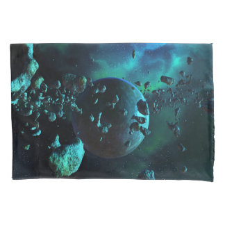 Asteroid Field Fantasy (2 sides) Pillowcase