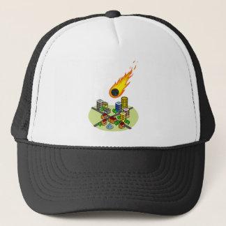 Asteroid Trucker Hat